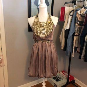 Formal Dress Heavy Bead Work